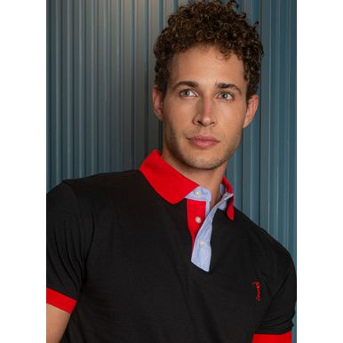 camisa-polo-aleatory-masculina-peitilho-contraste-lisa-preto-modelo-1-