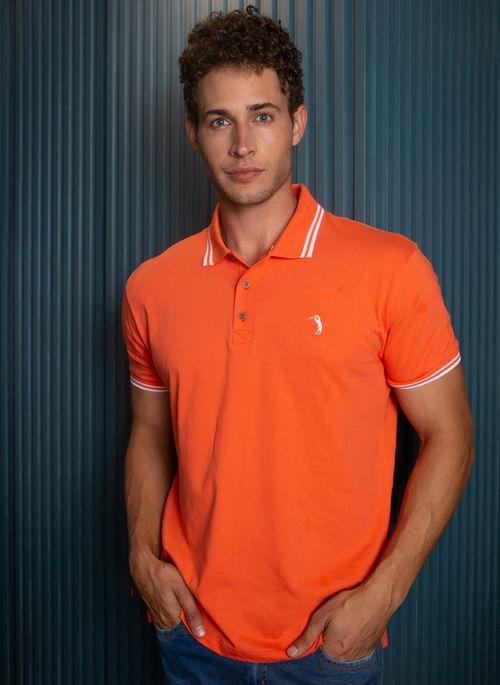 camisa-polo-aleatory-masculina-lisa-neon-coral-modelo-2021-2-