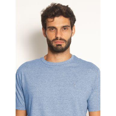 camiseta-aleatory-masculina-basica-lisa-mescla-azul-azul-modelo-2021-1-