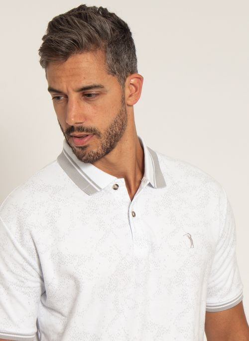 camisa-polo-aleatory-masculina-piquet-estampada-premium-branca-modelo-1-