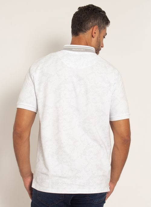 camisa-polo-aleatory-masculina-piquet-estampada-premium-branca-modelo-2-