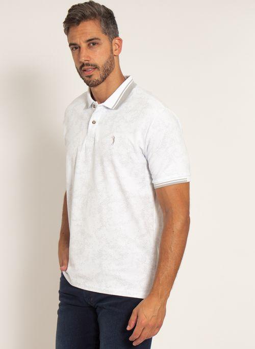 camisa-polo-aleatory-masculina-piquet-estampada-premium-branca-modelo-4-