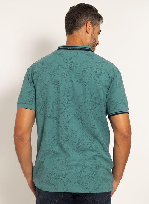 camisa-polo-aleatory-masculina-piquet-estampada-premium-verde-modelo--2-