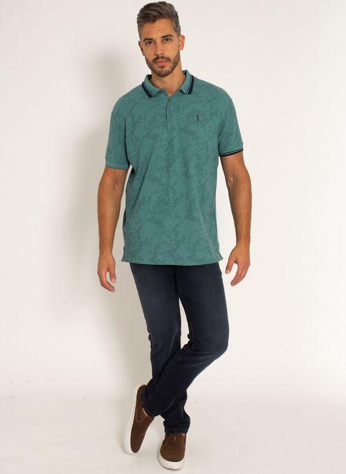 camisa-polo-aleatory-masculina-piquet-estampada-premium-verde-modelo--3-