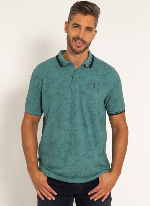 camisa-polo-aleatory-masculina-piquet-estampada-premium-verde-modelo--5-