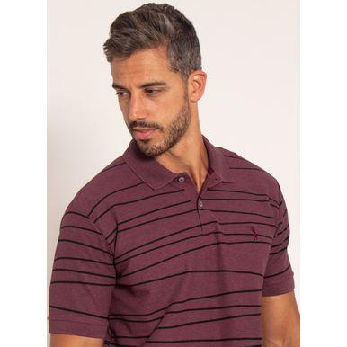 camisa-polo-aleatory-masculina-piquet-estampada-line-bordo-modelo-1-