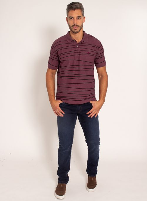camisa-polo-aleatory-masculina-piquet-estampada-line-bordo-modelo-3-