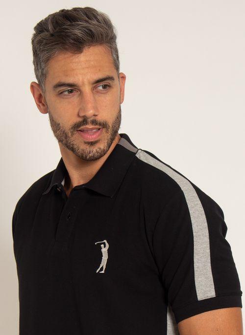 camisa-polo-aleatory-masculina-piquet-recortada-big-golf-preto-modelo-1-