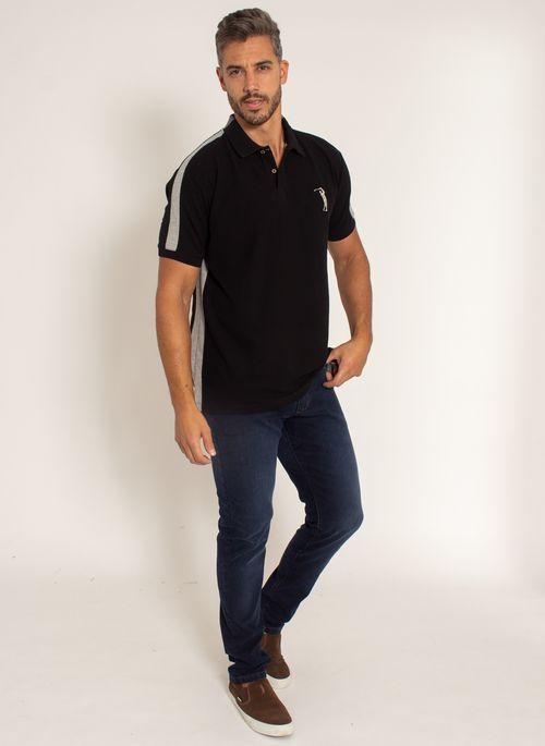 camisa-polo-aleatory-masculina-piquet-recortada-big-golf-preto-modelo-3-