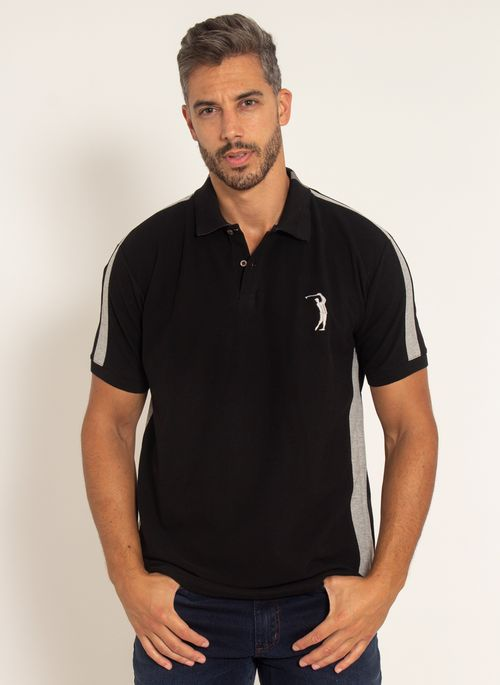 camisa-polo-aleatory-masculina-piquet-recortada-big-golf-preto-modelo-4-