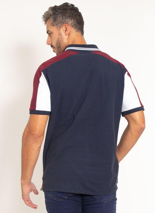 camisa-polo-aleatory-piquet-patch-dot-modelo-marinho-2-