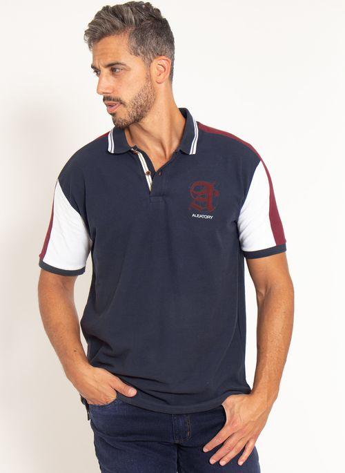 camisa-polo-aleatory-piquet-patch-dot-modelo-marinho-4-