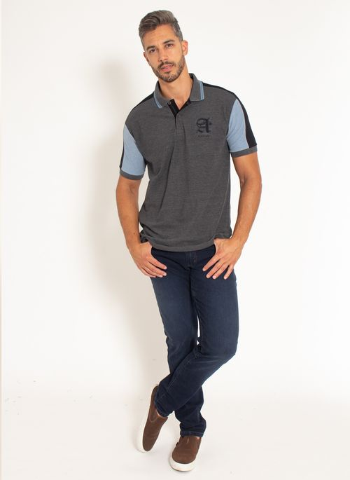 camisa-polo-aleatory-piquet-patch-dot-modelo-chumbo-3-