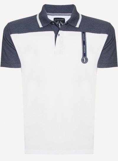 Camisa-Polo-Aleatory-Piquet-Recortada-Top-Branca-Branco-P