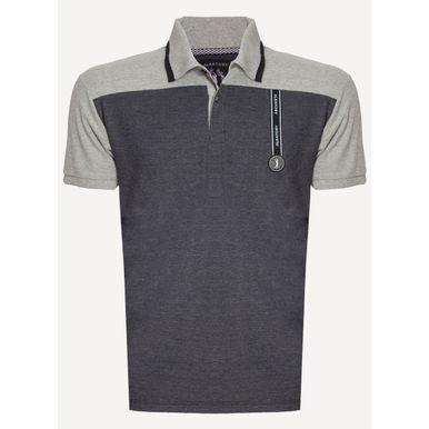 Camisa-Polo-Aleatory-Piquet-Recortada-Top-Preta-Preto-P
