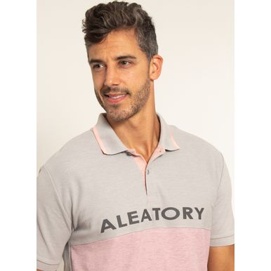 Camisa-Polo-Aleatory-Piquet-Recortada-Half-Cinza-Cinza-P