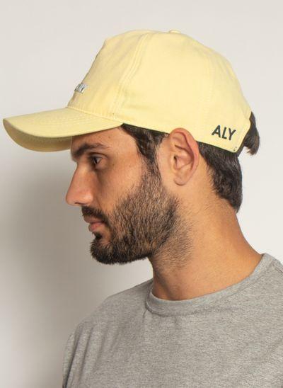 Bone-Aleatory-Golfer-Amarelo-Amarelo-Unico