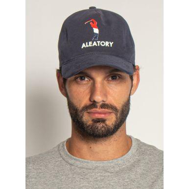 Bone-Aleatory-Golfer-Marinho-Azul-Marinho-Unico