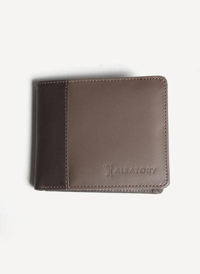 Carteira-Aleatory-Lux-Marrom-Marrom-Unico