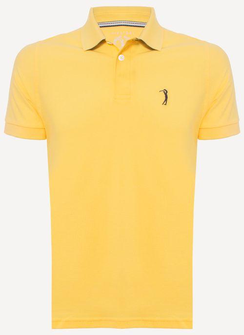 Camisa-Polo-Aleatory-Piquet-Light-Amarela-Amarelo-P