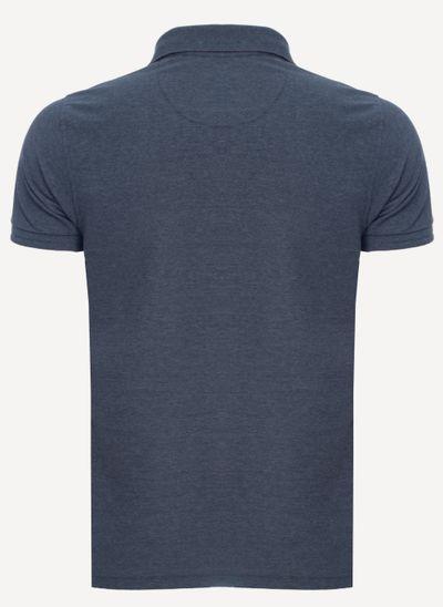 Camisa-Polo-Aleatory-Piquet-Light-Mescla-Azul-Azul-Marinho-P