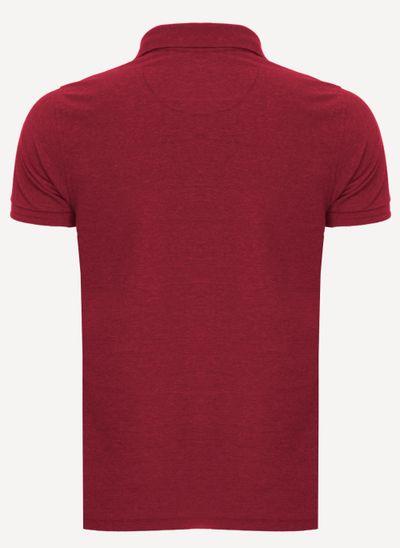 Camisa-Polo-Aleatory-Piquet-Light-Mescla-Vermelho-Vermelho-P