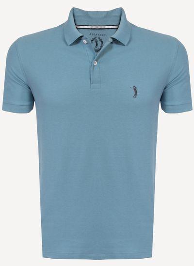 Camisa-Polo-Aleatory-Piquet-Light-Azul-Azul-P