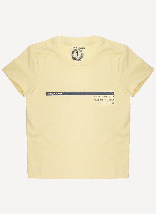 Camiseta-Aleatory-Kids-Estampada-Golf-Amarela-Amarelo-2
