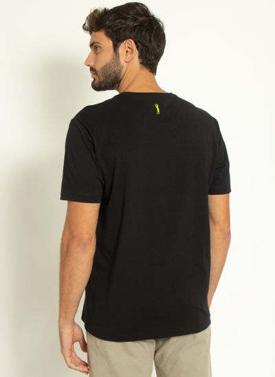 Camiseta-Estampada-Aleatory-Kayak-Preta-Preto-P