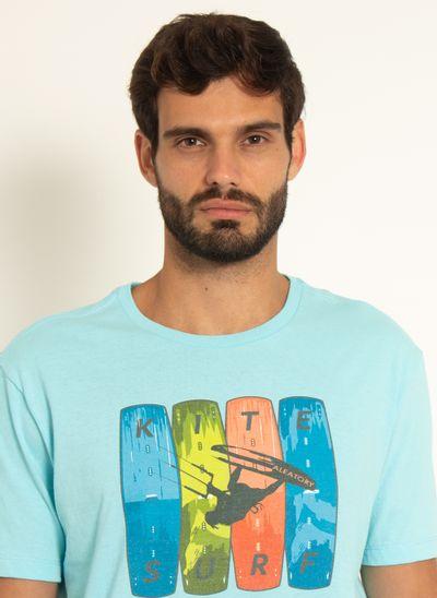 Camiseta-Estampada-Aleatory-Kite-Azul-Claro-Azul-Claro-P