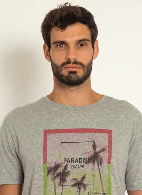 Camiseta-Estampada-Aleatory-Paradise-Cinza-Cinza-P