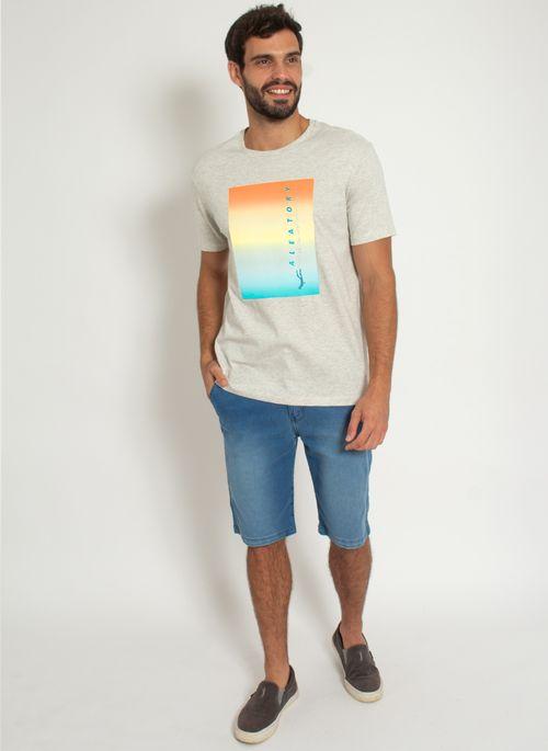 Camiseta-Estampada-Aleatory-Dive-Bege-Bege-P