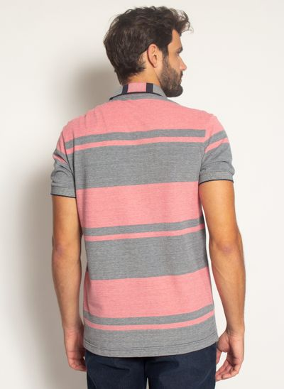 Camisa-Polo-Aleatory-Listrada-Piquet-Binado-Roll-Vermelha-Vermelho-P