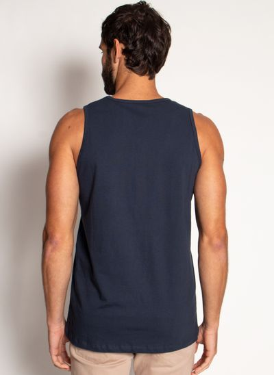 Camiseta-Regata-Aleatory-Basica-Azul-Azul-Marinho-P