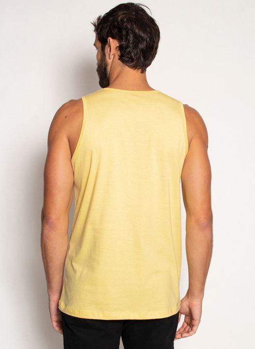 Camiseta-Regata-Aleatory-Basica-Amarela-Amarelo-P