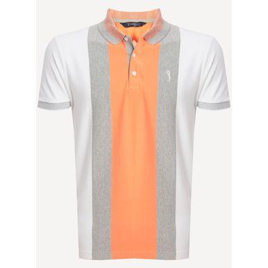 Camisa-Polo-Aleatory-Listrada-Click-Laranja-Laranja-M