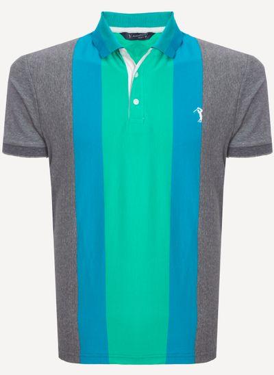 Camisa-Polo-Aleatory-Listrada-Click-Verde-Verde-M