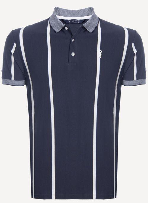 Camisa-Polo-Aleatory-Listrada-Time-Marinho-Azul-Marinho-M