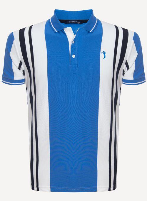 Camisa-Polo-Aleatory-Listrada-Evolution-Azul-Azul-M