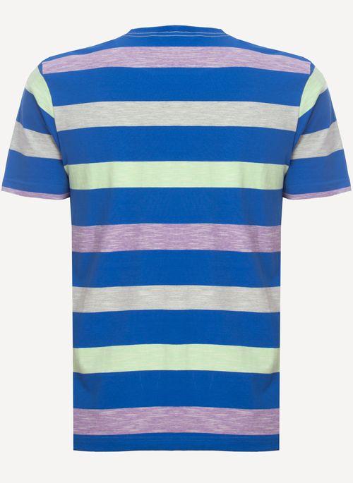Camiseta-Aleatory-Listrada-Space-Azul-Azul-M