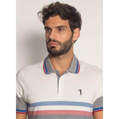 Camisa-Polo-Aleatory-Listrada-Piquet-Binado-Illusion-Branca-Branco-M