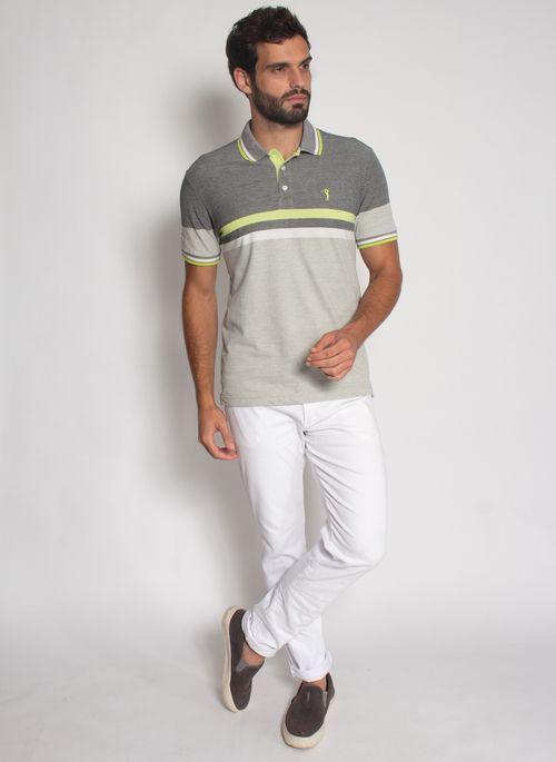 Camisa-Polo-Aleatory-Listrada-Piquet-Binado-Illusion-Preta-Preto-M