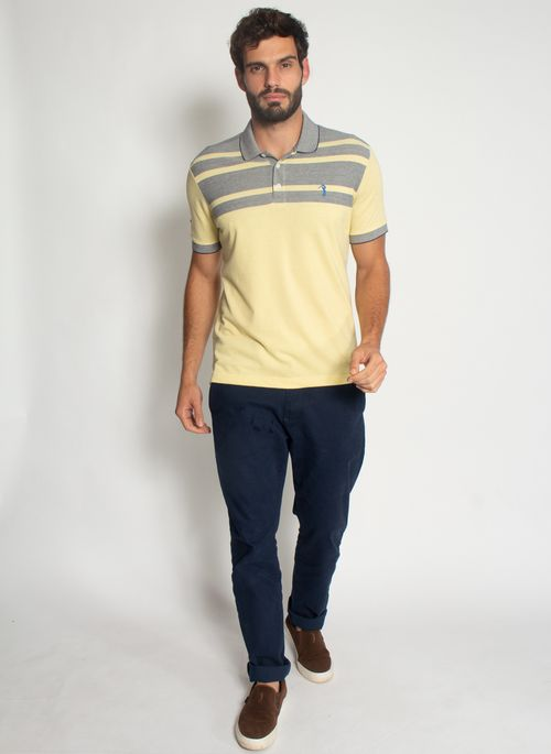 Camisa-Polo-Aleatory-Listrada-Piquet-Binado-Window-Amarela-Amarelo-M