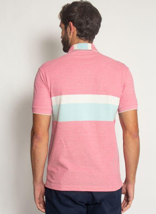 Camisa-Polo-Aleatory-Listrada-Piquet-Binado-Pulse-Vermelha-Vermelho-M