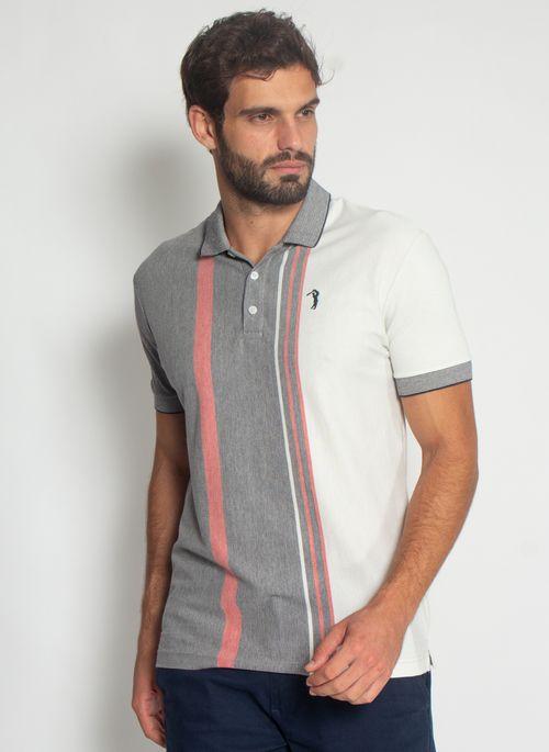 Camisa-Polo-Aleatory-Listrada-Piquet-Binado-Halo-Preta-Preto-M