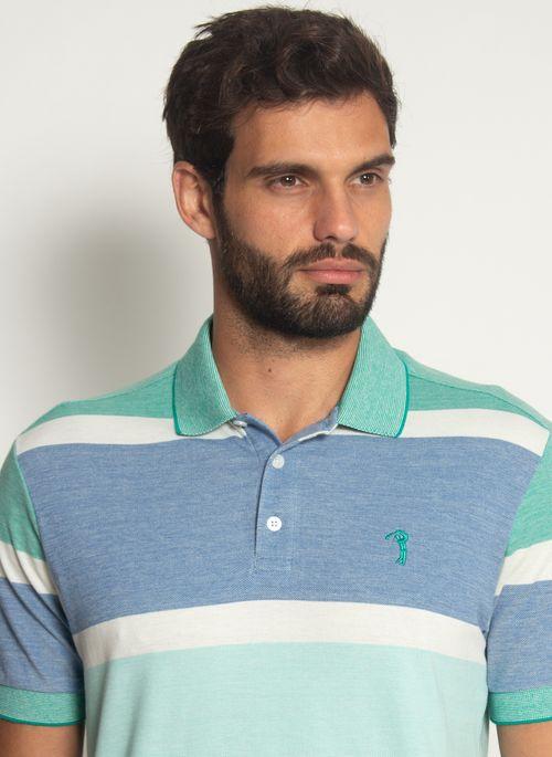 Camisa-Polo-Aleatory-Listrada-Piquet-Binado-Mask-Azul-Azul-M