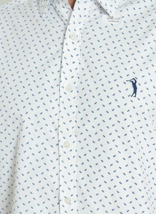 Camisa-Aleatory-Infinity-Manga-Curta-Branca-Branco-P