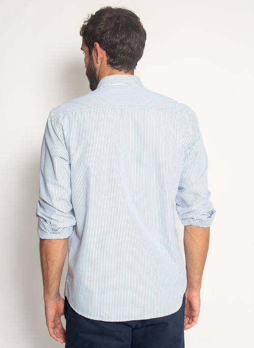 Camisa-Aleatory-Listrada-Beat-Azul-Azul-P