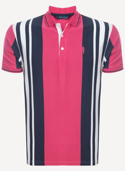 Camisa-Polo-Aleatory-Listrada-Evolution-Rosa-Rosa-M