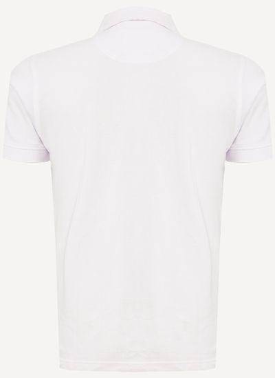 Camisa-Polo-Aleatory-Piquet-Recortada-Brasao-Branca-Branco-P
